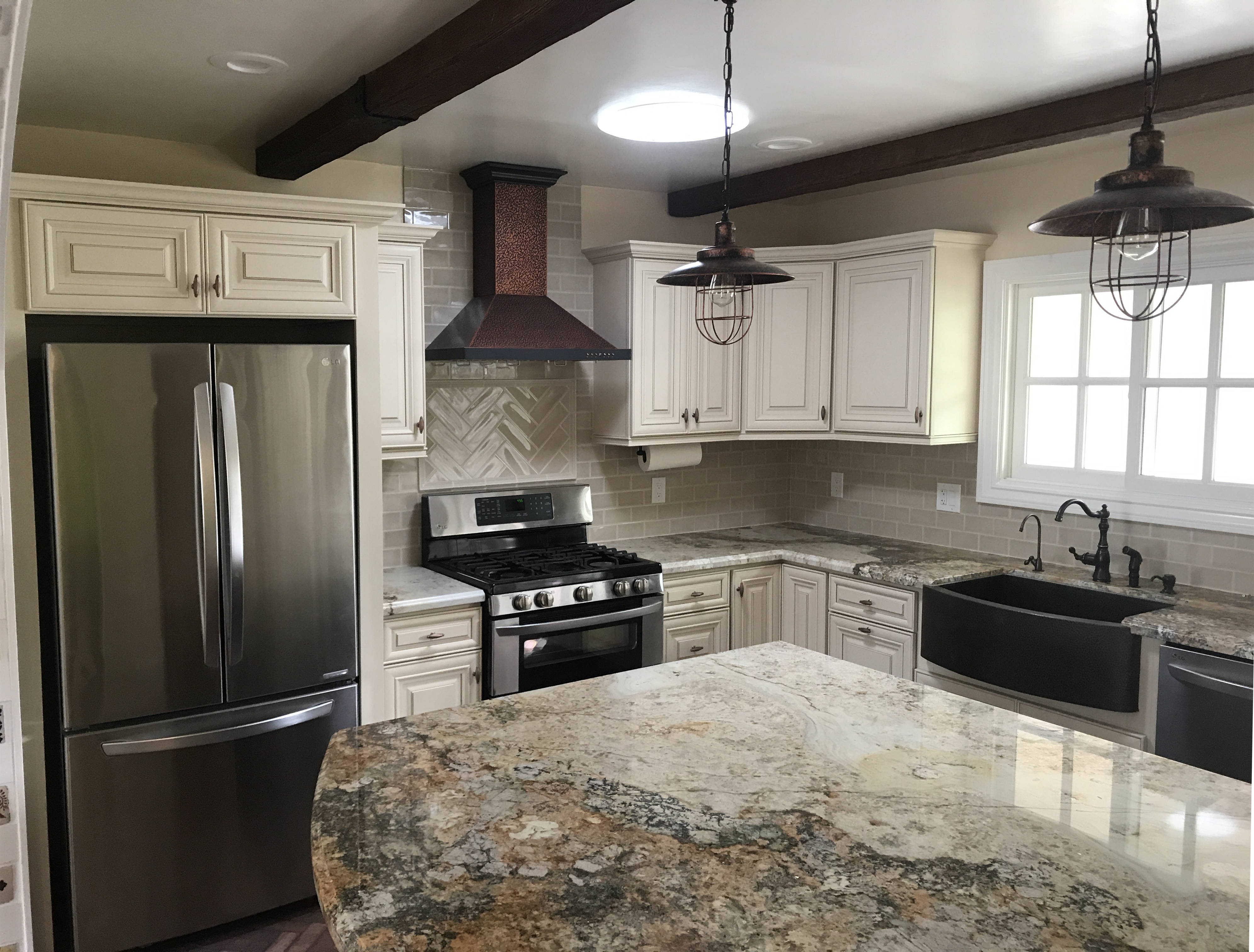 Traditional & Spanish-Style Kitchen Remodel