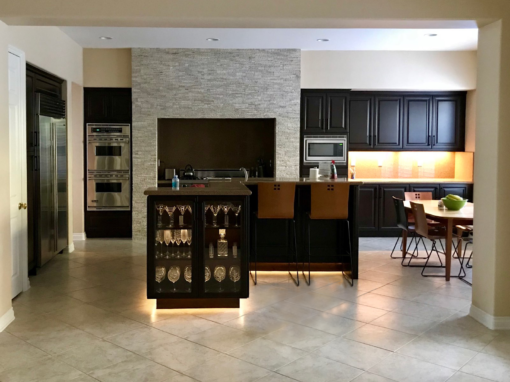 Kitchen & Living Area Remodel